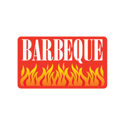 Meat Label Barbecue BBQ