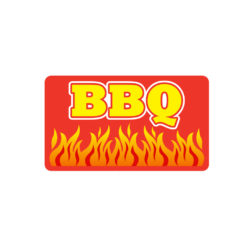 BBQ Meat Butcher Label