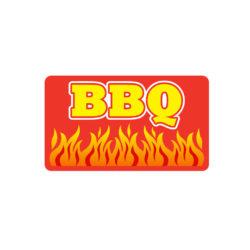 BBQ Meat Butcher Label
