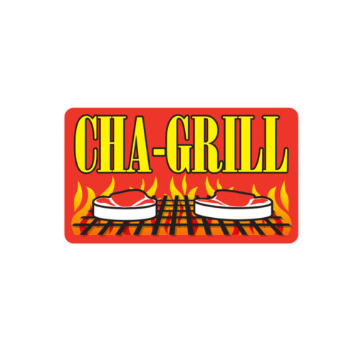Cha Grill Butcher Meat Label