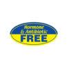 Hormone antibiotic free Butcher Meat Display Label