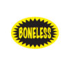 Boneless Butcher Meat Display Label