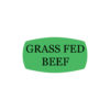Grass Fed Beef Butcher Meat Label