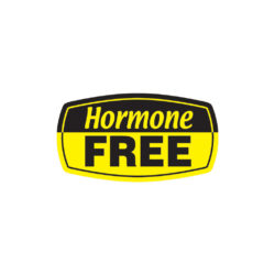 Hormone Free Butcher Meat Label