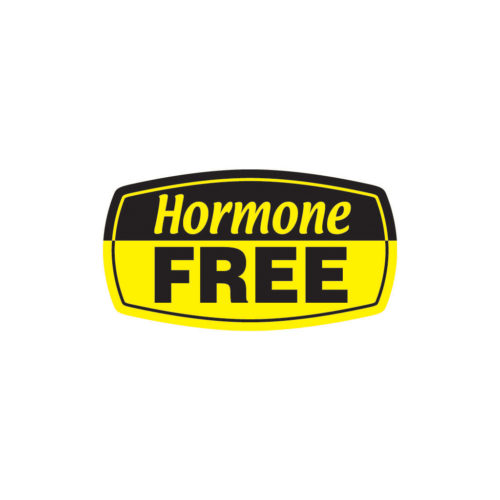 Hormone Free Butcher Meat Label