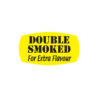 Double Smoked for Extra Flavour Butcher Meat Display Label