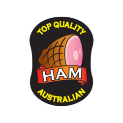 Top Quality Australian Ham Butcher Label Australia