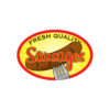 Fresh Quality Sausages Meat Butcher Labels