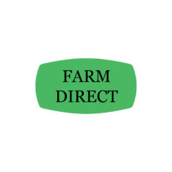 Farm Direct Butcher Label