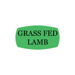 Grass Fed Lamb Butcher Labels