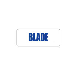 Butcher Freezer Label Blade
