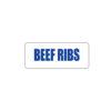 Butcher Freezer Label