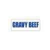 Butcher Meat Label