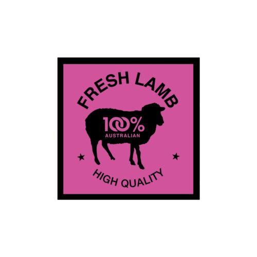 Butcher Meat Display Label