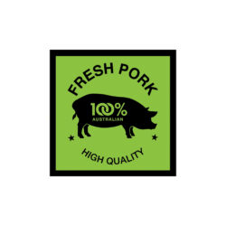 Butcher Meat Display Label