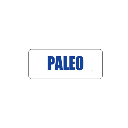 Butcher Freezer Label Paleo