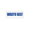 Butcher Freezer Label Wagyu
